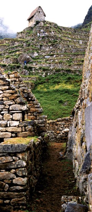 House of the Guardian in Machu Picchu